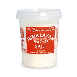 Гималайская соль Розовая (мелкий помол 0,7-1 мм), 482 г.);