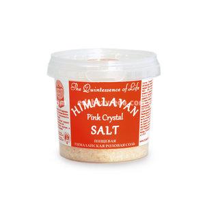 Гималайская соль Розовая (средний помол 1-2 мм), 284 г.);