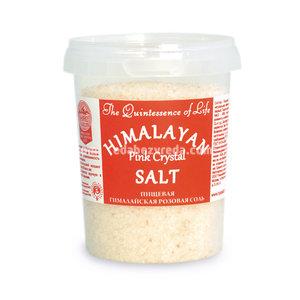 Гималайская соль Розовая (средний помол 1-2 мм), 482 г.);