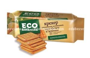 Крекеры Eco Botanica с пищевыми волокнами, картофелем и зеленью ,175 гр