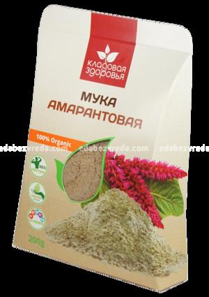 """Мука амарантовая """"Кладовая Здоровья"""", 200 г.);"""