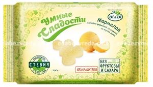 """Мармелад """"Умные сладости"""" со вкусом дыни, 200 г."""