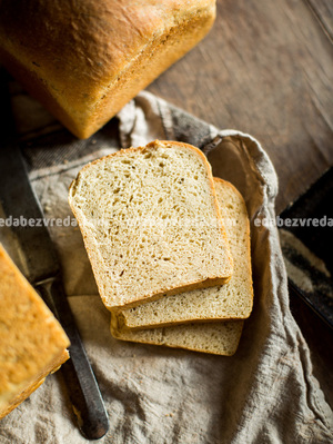 """Белый хлеб из Овсяных отрубей """"Можно?Нужно!"""", 320 г."""
