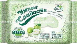 """Зефир """"Умные сладости"""" со вкусом зелёного яблока, 150 г.);"""