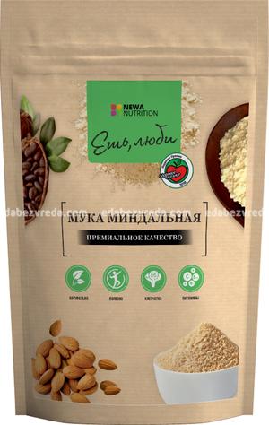 Мука миндальная Newa Nutrition, 200 г.);