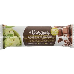 Батончик в шоколадной глазури DariBar Фисташковое мороженое, 40 г.);