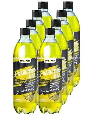 Напиток слабогаз. SCHWARZ L-CARNITINE 1500 Ананас, 500 мл.);