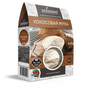 Мука кокосовая POLEZZNO, 500 г.);