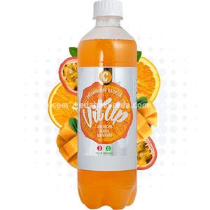 Напиток тонизирующий среднегаз. VITUP Апельсин-Манго-Маракуйя, 0.5 л.);