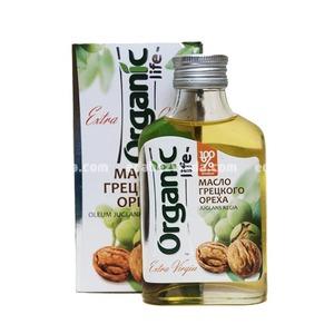 Масло грецкого ореха Organic Life, 100 мл);