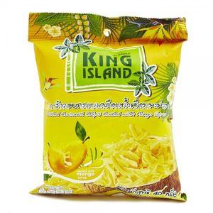 Кокосовые чипсы King Island со вкусом манго, 40 г
