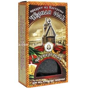 Чёрная соль «Четверговая» (мелкий помол), 100 г.);