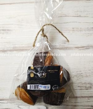 """Правильные мини-кексы """"Можно?Нужно!"""" с яблоком, 120 г.);"""
