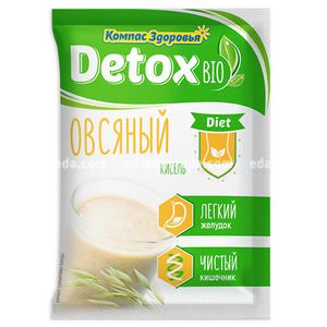"""Кисель DETOX BIO DIET Овсяный """"Компас Здоровья"""", 25 г);"""