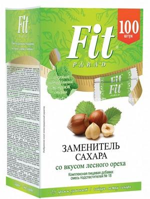 Заменитель сахара в стиках FitParad №18 Лесной орех, 100 шт.