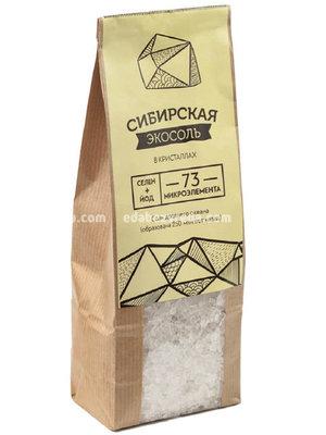Экосоль в кристаллах Sibereco крафт-пакет, 500 г.);