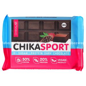 Шоколад тёмный Chikalab, 100 г.);