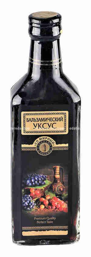 """Уксус бальзамический 6% """"Мирный"""", 250 мл."""