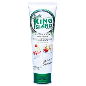 Сгущенное кокосовое молоко KING ISLAND, 180 г.);
