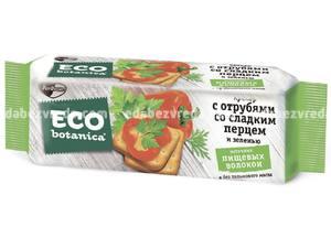 Крекеры Eco Botanica со сладким перцем и зеленью, 175 г