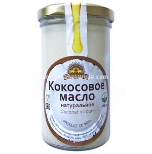 100% Кокосовое масло Indian Bazar, 250 мл.);