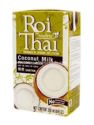 100% Кокосовое молоко Roi Thai , 250 мл