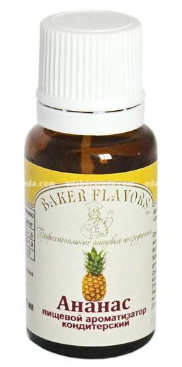 Ароматизатор пищевой Baker Flavors Ананас, 10 мл.);