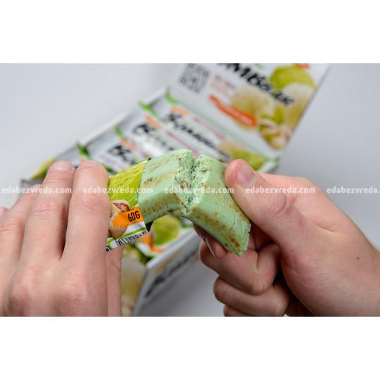 Батончик протеиновый BOMBBAR Фисташковый пломбир, 60 г