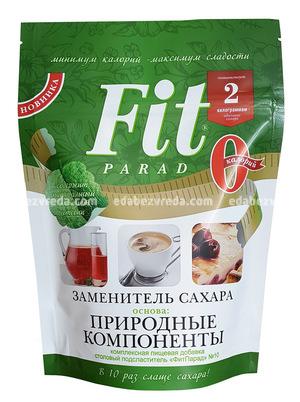 Заменитель сахара FitParad №7 дой-пак, 400 г.