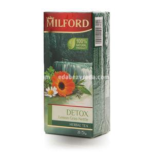 Напиток чайный ДЕТОКС Милфорд, 20 шт);