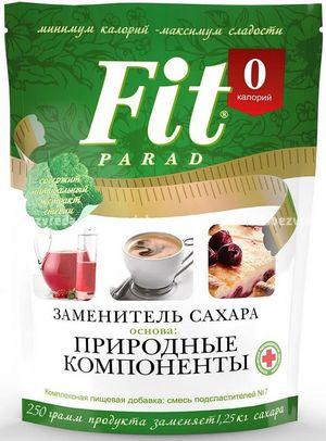 Заменитель сахара FitParad №7 дойпак/банка, 250 г.);