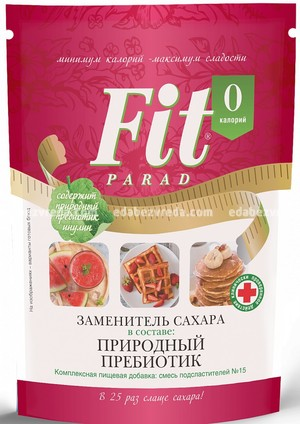 Заменитель сахара FitParad №15 дой-пак, 200 г.);