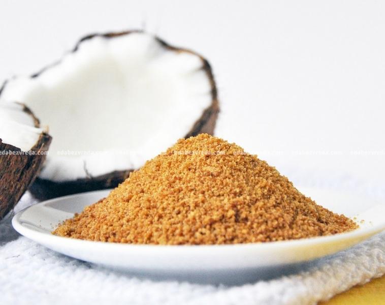 Сахар кокосовый Bionova органический, 200 г.