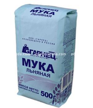 """Мука """"Гарнец"""" льняная, 500 г.);"""