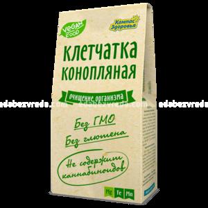 """Клетчатка конопляная """"Компас Здоровья"""", 150 г.);"""