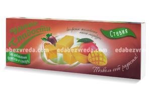 """Конфеты желейные """"Умные сладости"""" без сахара Манго-маракуйя , 90 г);"""