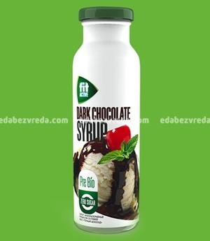 """Сироп низкокалорийный пребиотик Fit Active """"Тёмный шоколад"""", 300 мл);"""