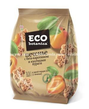 Печенье Eco Botanica с бета-каротином и кусочками кураги, 200 г
