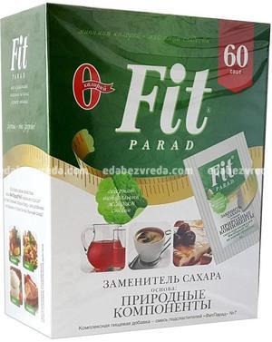 Заменитель сахара FitParad №7, 60 шт.