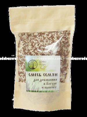 """Смесь семян для йогурта и выпечки """"Источник Жизни"""", 200 г.);"""