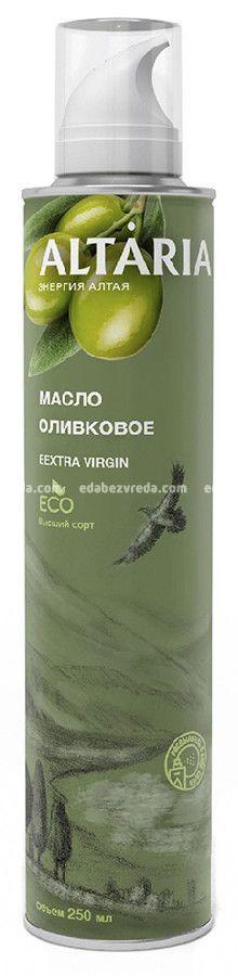 Масло-спрей оливковое нерафинированное ALTARIA, 250 мл.);
