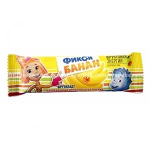 """Батончик детский """"Фиксики"""" Банан , 30 г"""
