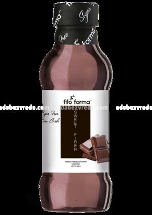 """Сироп без сахара """"Шоколад"""" Fito Forma, 360 мл"""
