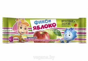 """Батончик детский """"Фиксики"""" Яблоко , 30 г);"""