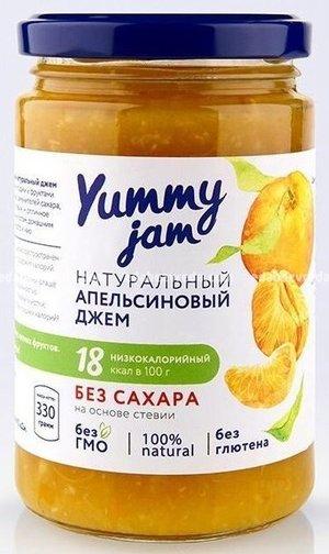 Фруктовый джем Yummy Jam Апельсиновый, 330 г);