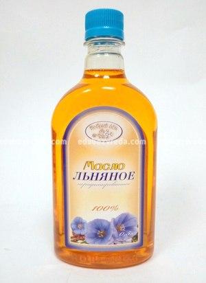 """Масло льняное """"Добрый Лён"""" , 500 мл);"""
