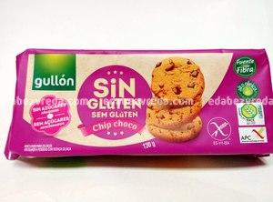 Печенье с шоколадной стружкой Chip Choco Gullon без глютена без сахара ,130г.);