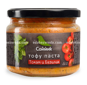 "Тофу-паста ""Соймик"" Томат и базилик, 300 г);"