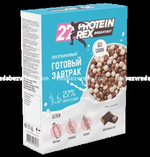 Готовый протеиновый завтрак ProteinRex Шоколад, 250 г.);