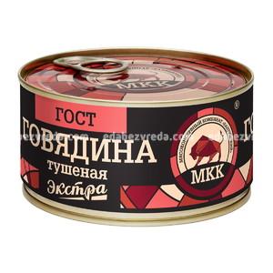 Говядина тушёная ЭКСТРА МКК Балтийский, 325 г.